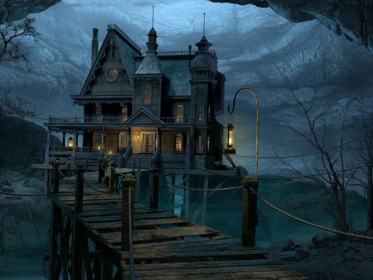 Gothic house Wallpaper   Download The Gothic house Wallpaper 736x552