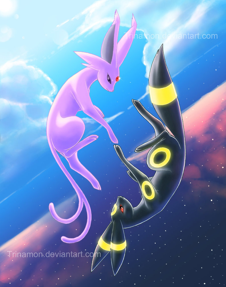Umbreon And Espeon Wallpaper Umbreon and es 794x1007