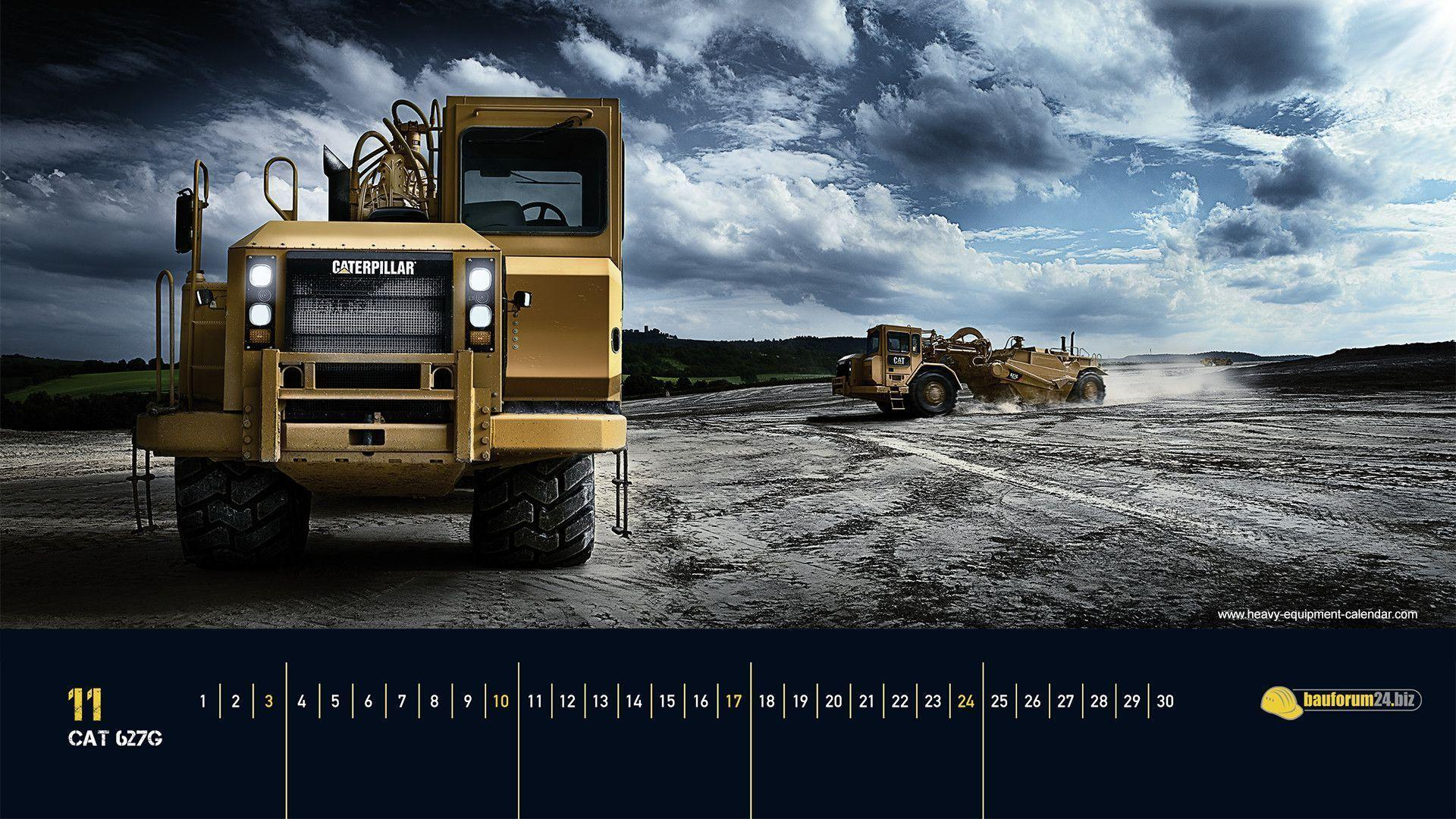 Caterpillar Equipment Wallpapers 1920x1080