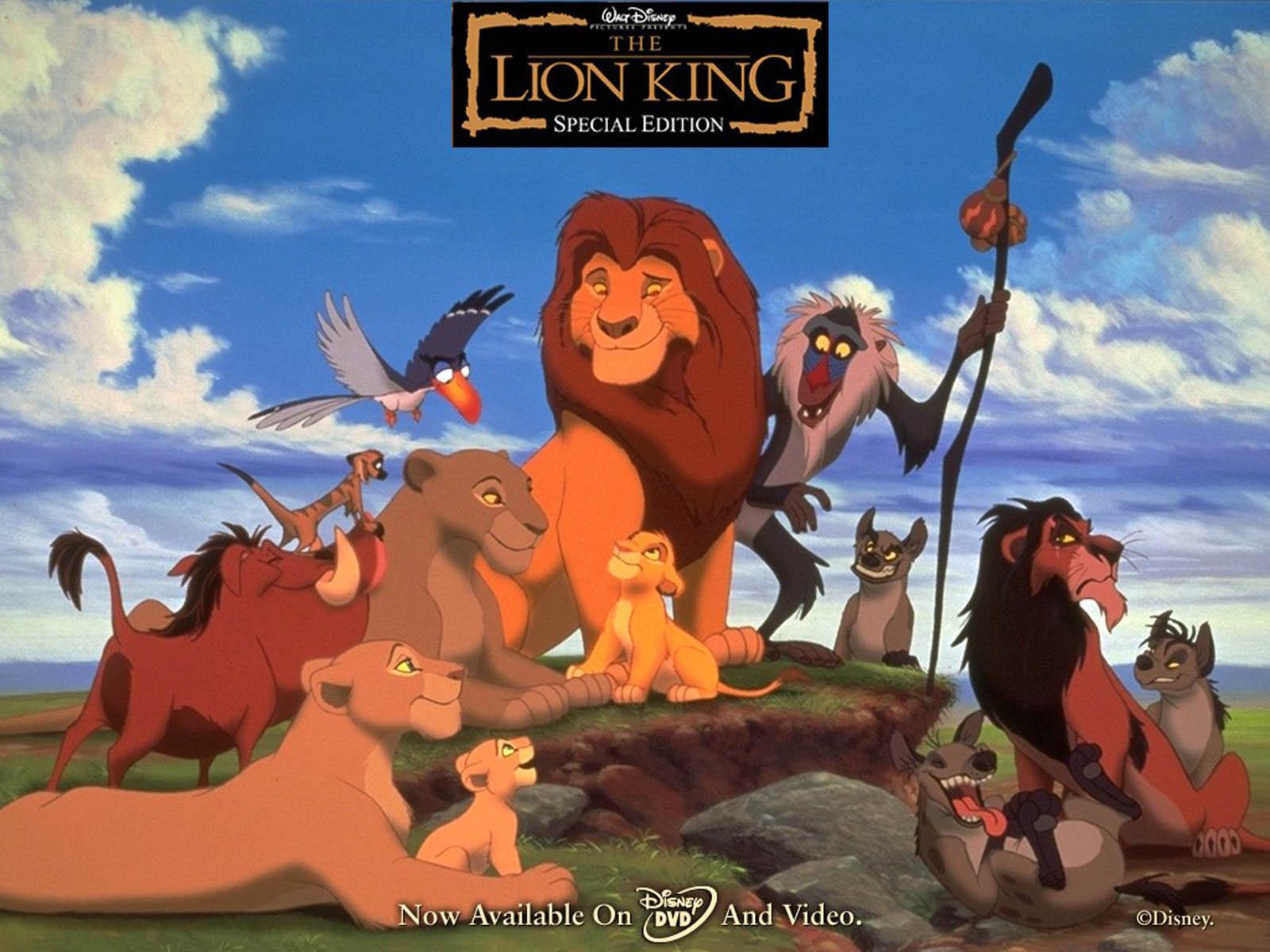 Lion King Wallpapers The Lion King Desktop Wallpapers The Lion King 1600x1200
