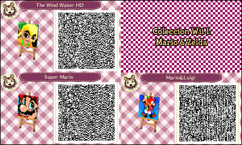 Free Download Acnl Qr Codes 800x480 For Your Desktop Mobile