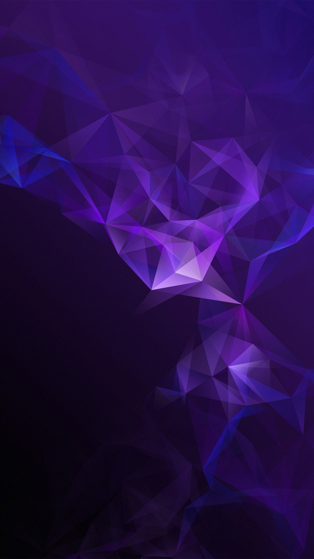 Galazy Blue And Purple Background Firefox Wallpaper 1080x1920