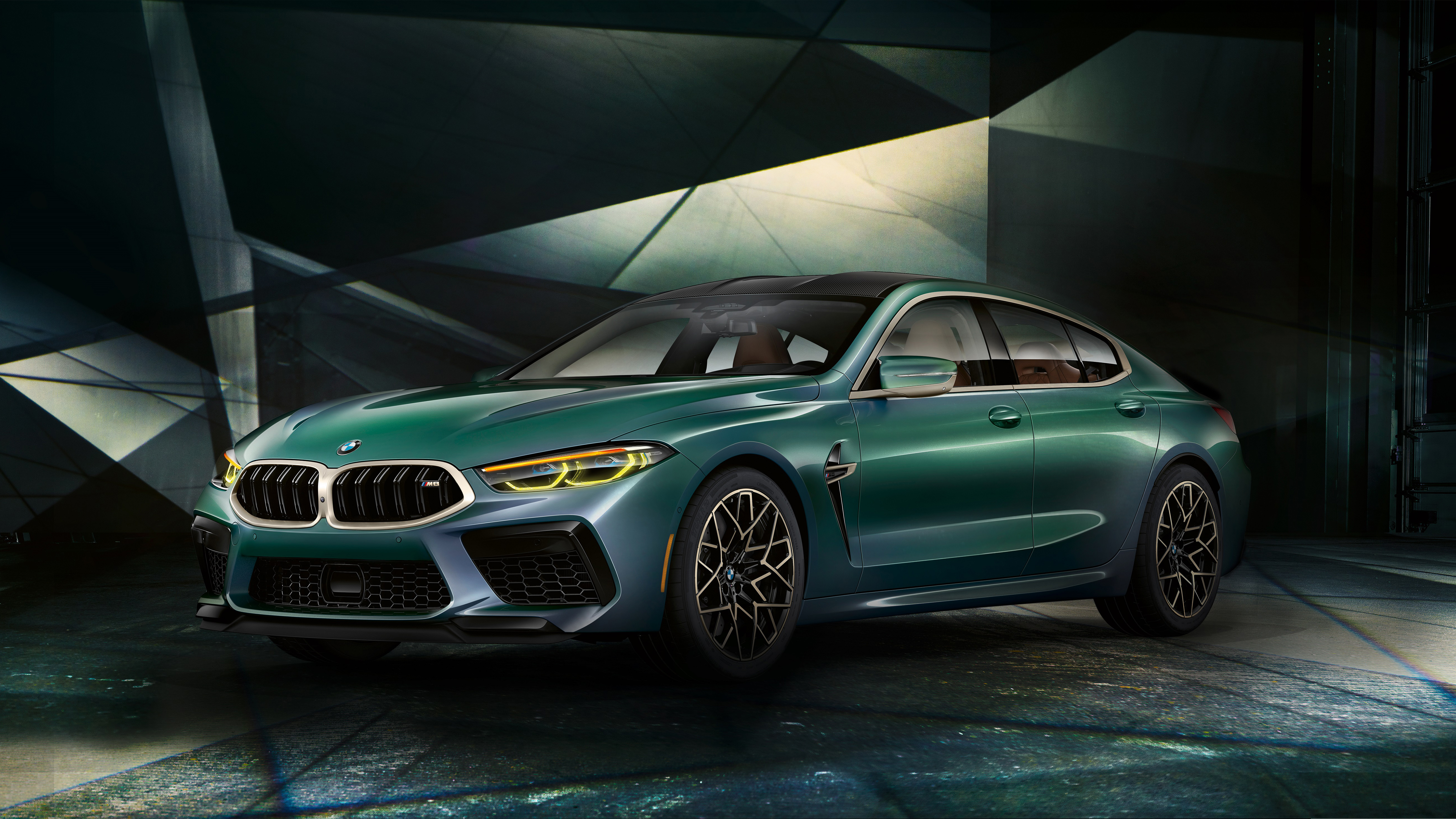2020 BMW M8 Gran Coupe First Edition 4K Wallpaper HD Car 5120x2880