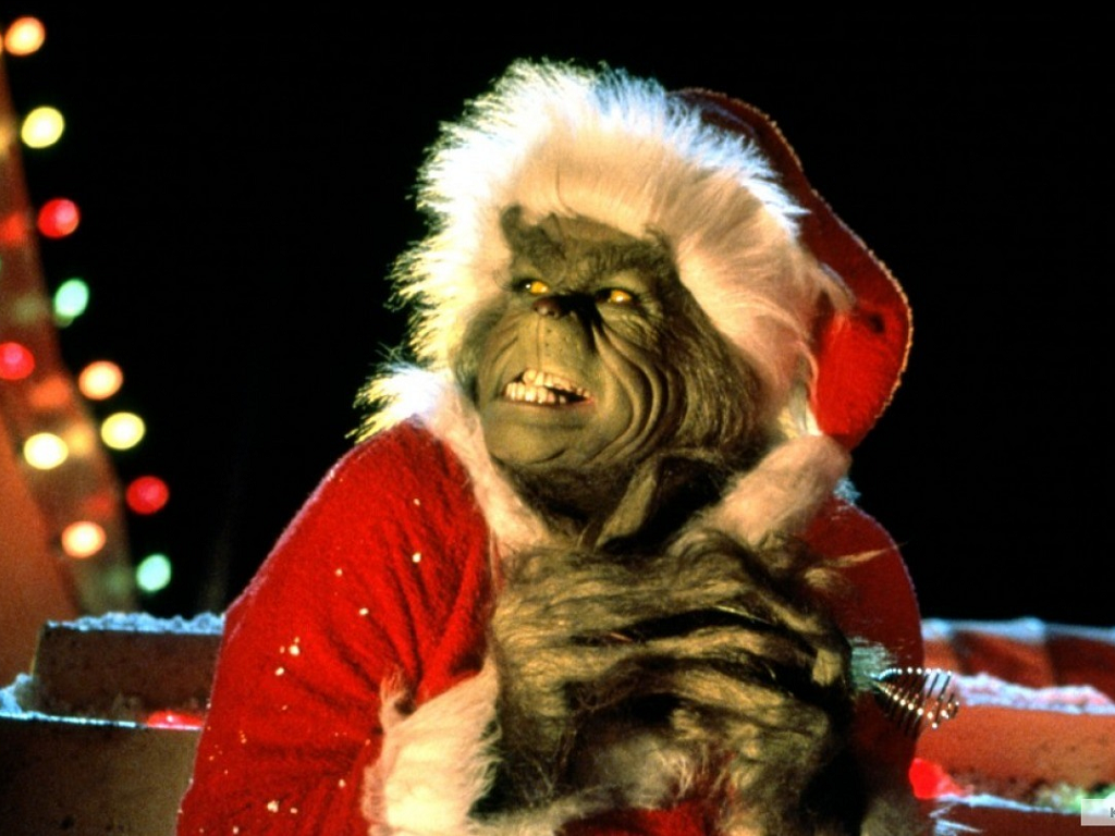 The Grinch   How The Grinch Stole Christmas Wallpaper 33148439 1024x768