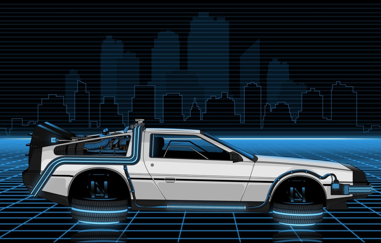 Wallpaper Auto Figure Music Machine Style Background Car 1332x850