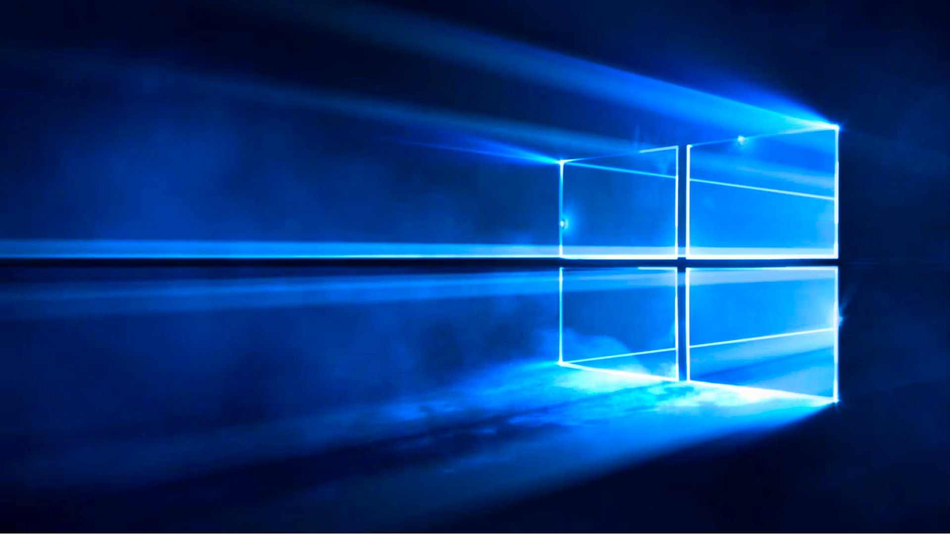 The new Windows 10 default wallpaper and lock screen image is one of 1920x1080