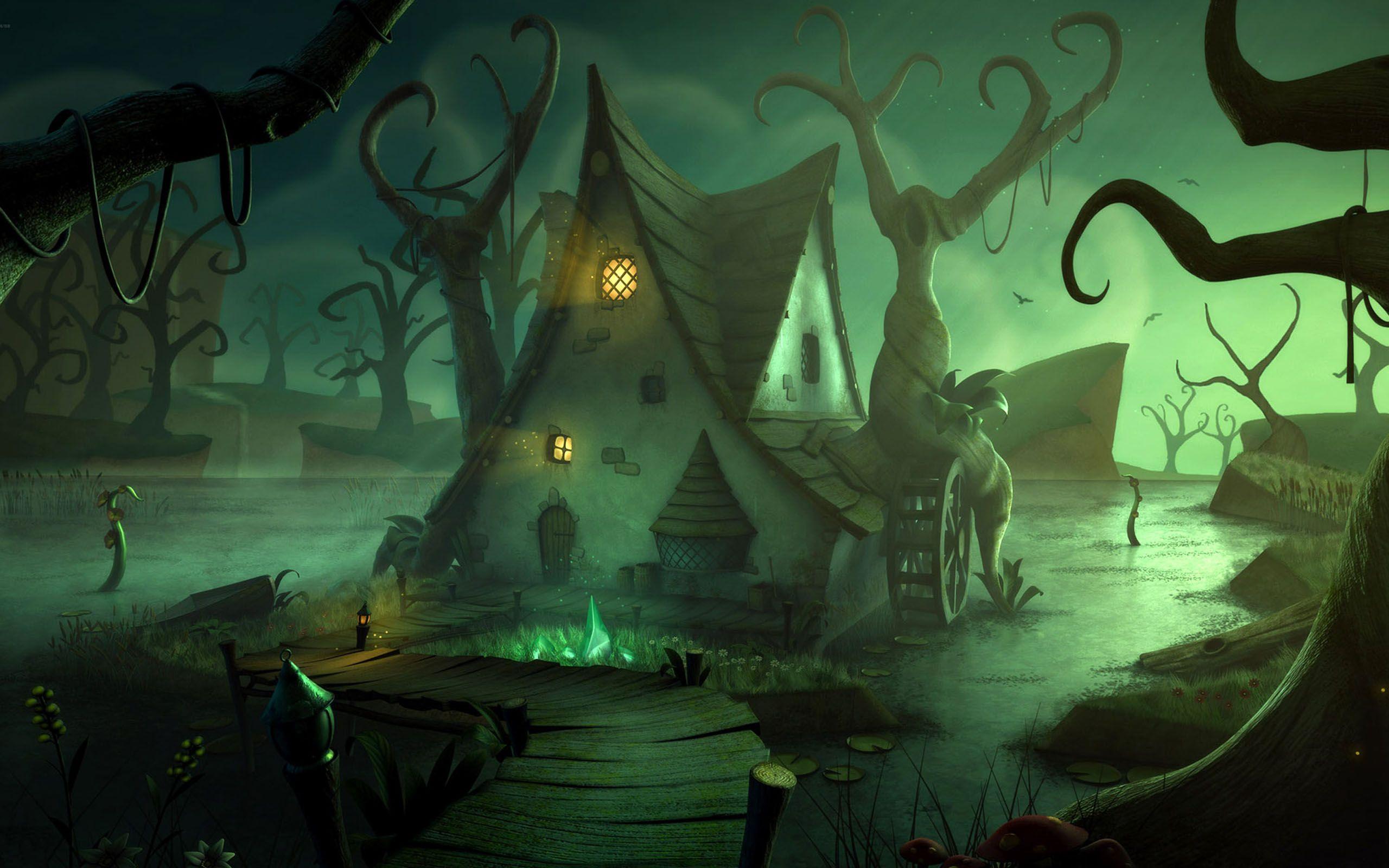 download Halloween Backgrounds for desktop 2560x1600