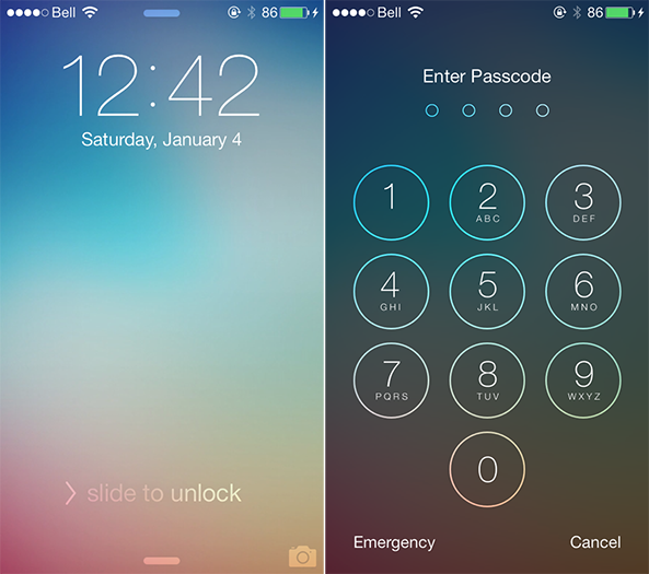 How To Create A Wonderful Lock Screen On iOS 7   Redsn0w Redsnow 593x525