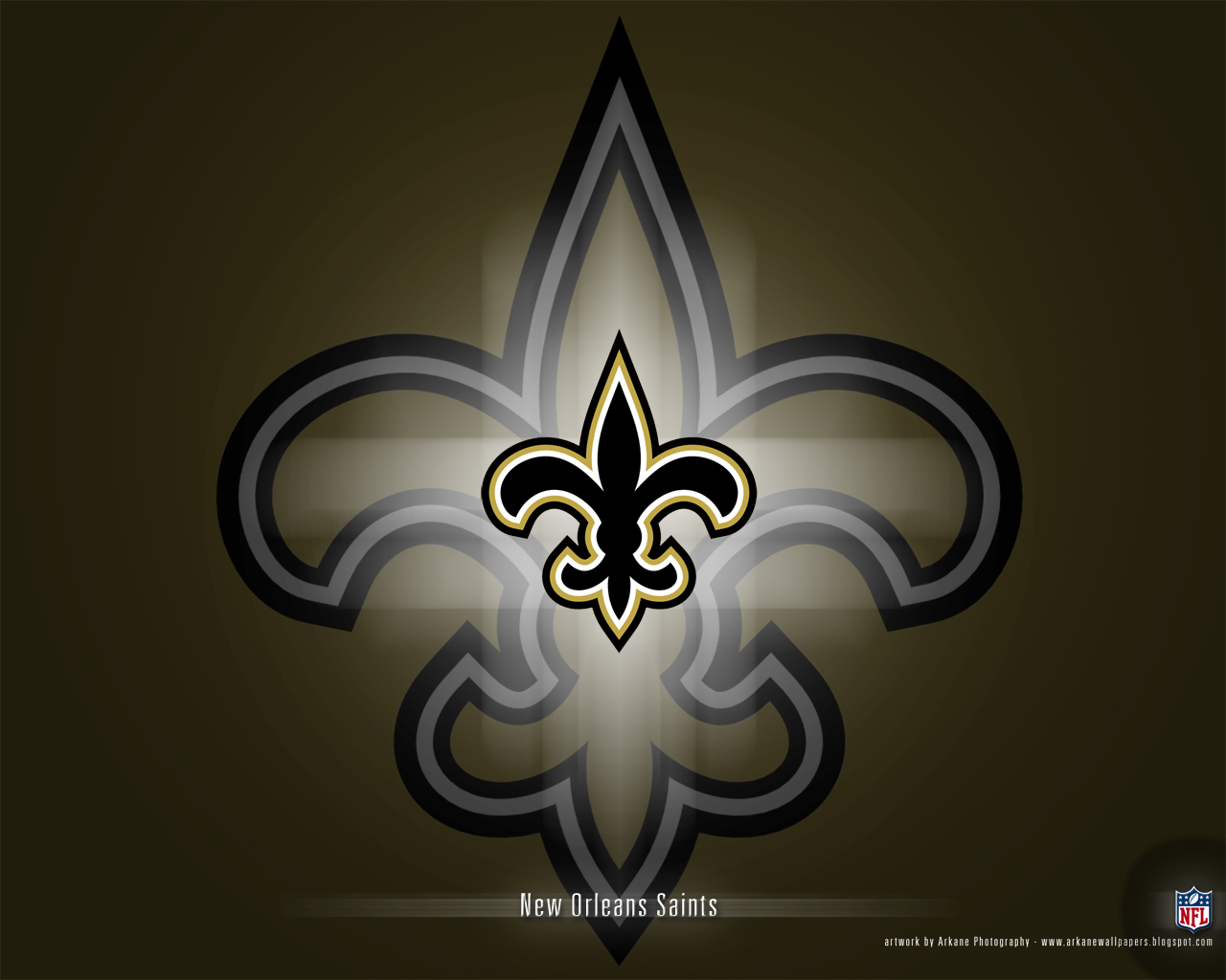 Arkane NFL Wallpapers New Orleans Saints   Vol 1 1280x1024