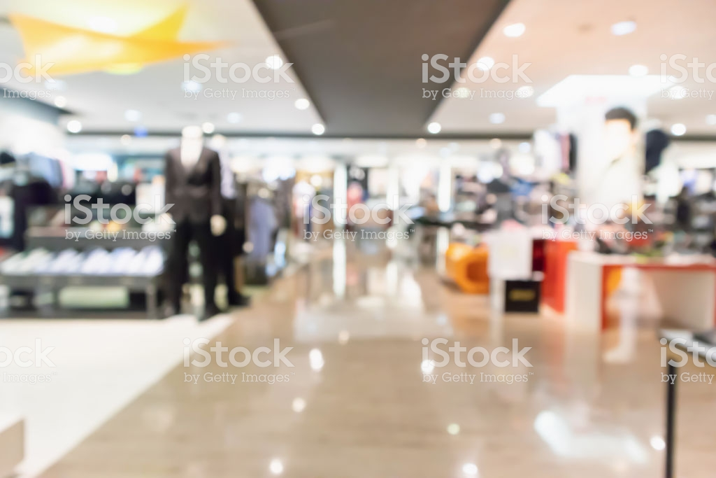 Abstract Blur Clothing Boutique Display Interior Of Shopping Mall 1024x683