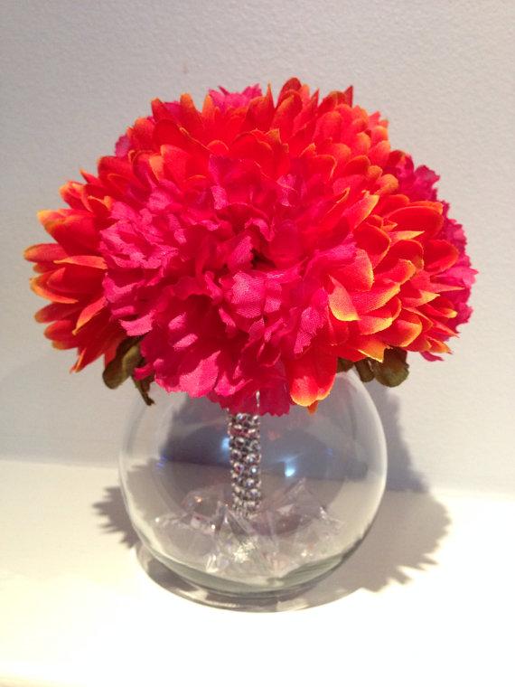 Wedding Centerpiece Quinceanera Flowers Birthday Arrangement 570 x 760 570x760