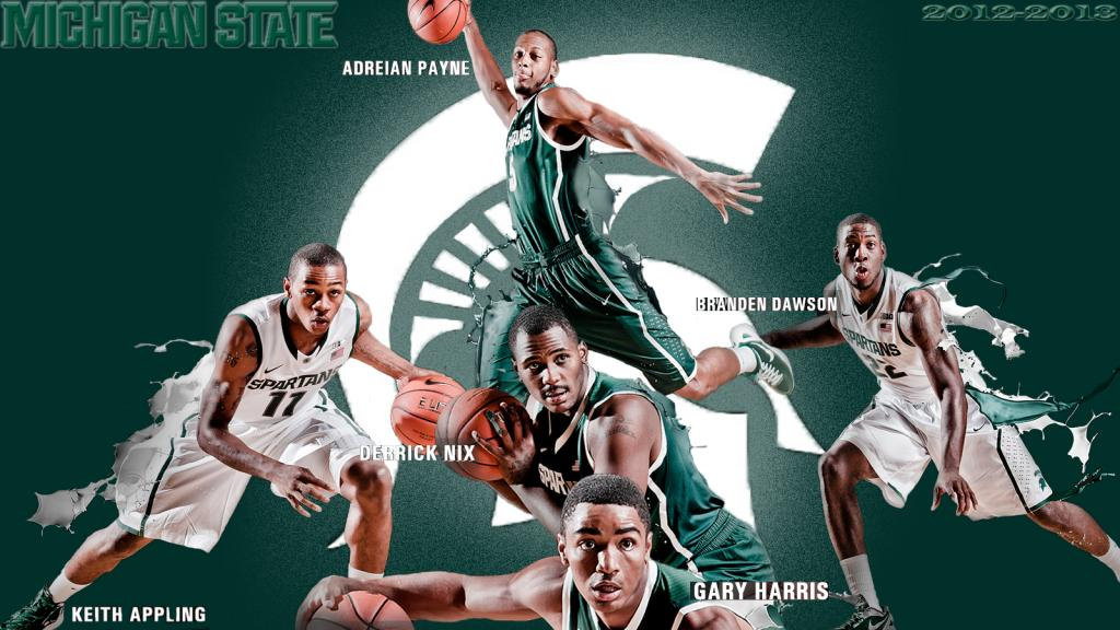 michigan state basketball wallpaper wallpapersafari