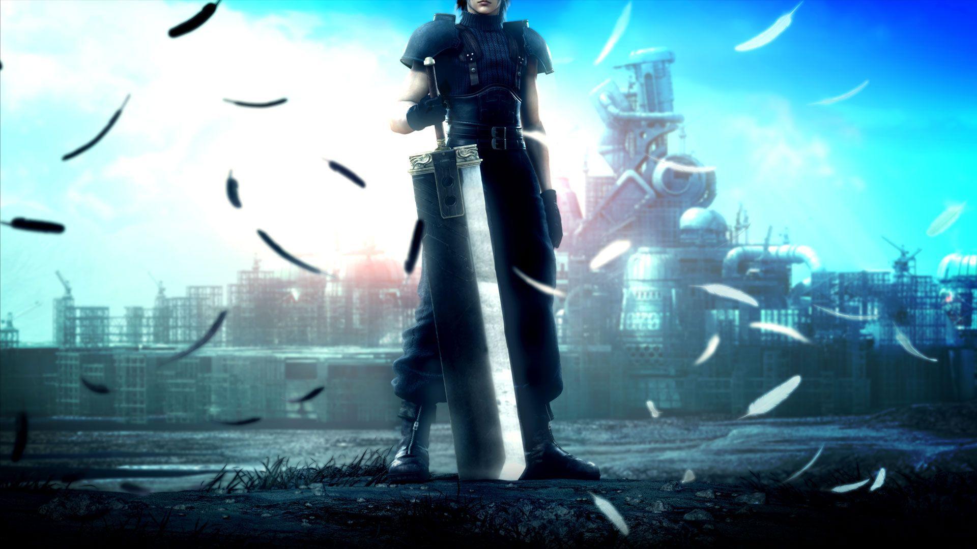 Cloud Strife   Final Fantasy VII Widescreen Wallpaper   2603 1920x1080
