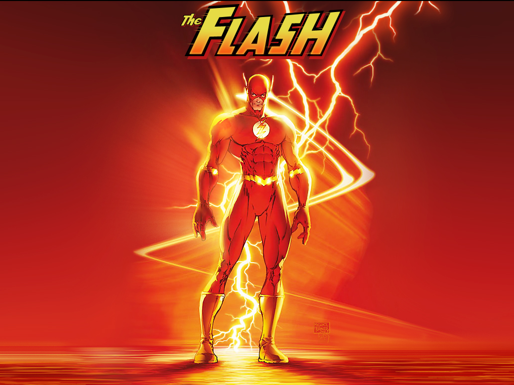 My Wallpapers   Comics Wallpaper The Flash 1024x768