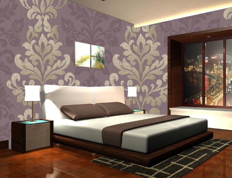 Bedroom Wallpaper   China Eco Friendly Wallpaper Decorate Wallpaper 752x578