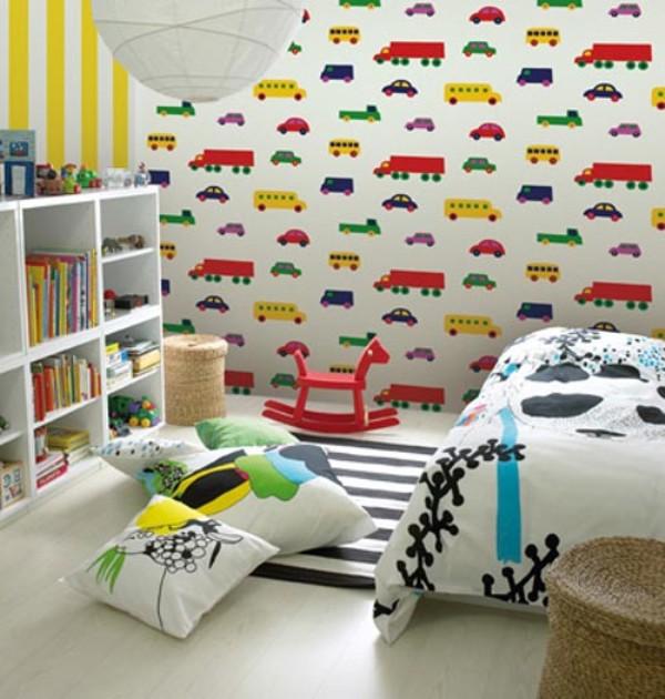 Contoh Wallpaper Dinding Kamar Tidur 600x630