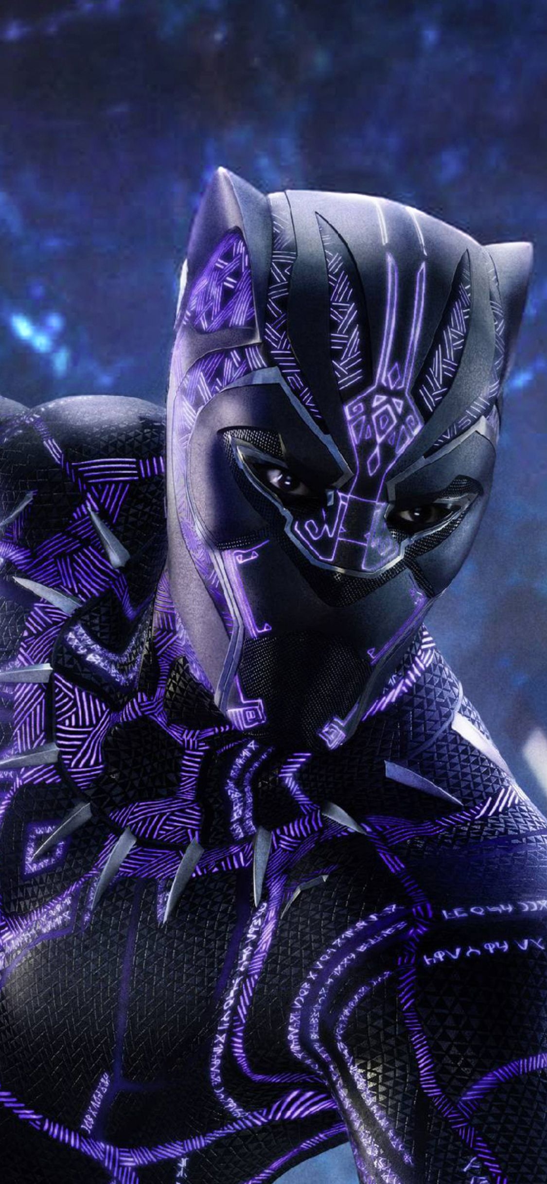 1125x2436 Black Panther Movie 2018 Poster Iphone XSIphone 10 1125x2436