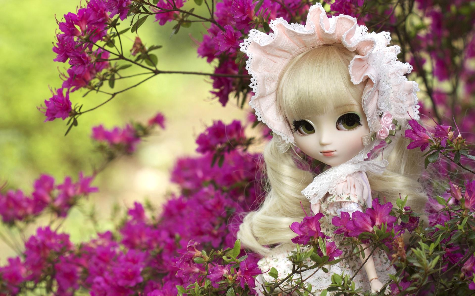 Cute Doll Girl HD Wallpaper 1920x1200