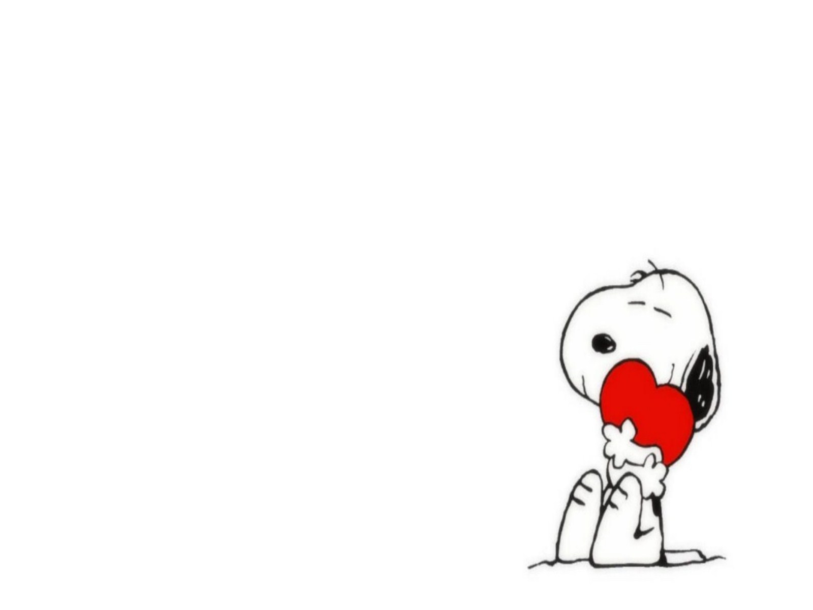 HD Snoopy Valentine Wallpaper iPhone Wallpapers and Backgrounds 1600x1200