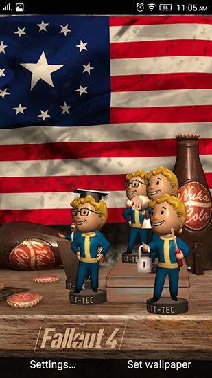 Fallout 4 fr Android kostenlos herunterladen Live Wallpaper Fallout 309x550
