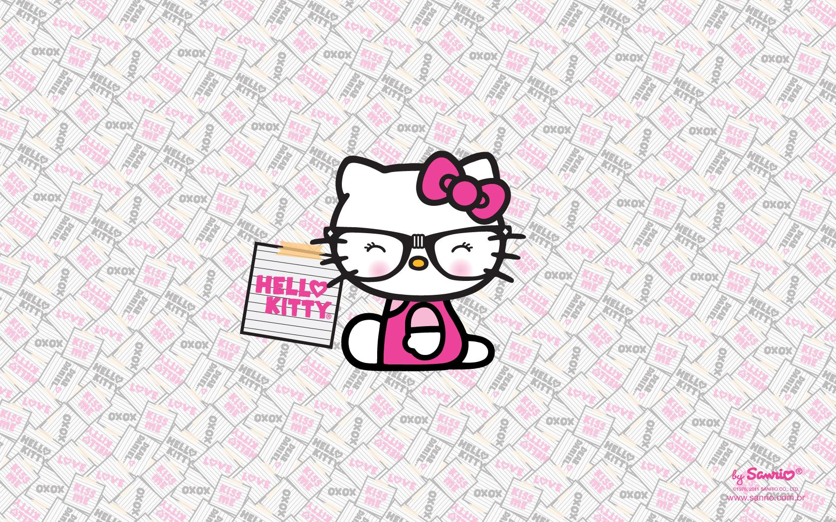 Hello Kitty Nerd Wallpapers   Top Hello Kitty Nerd 1680x1050