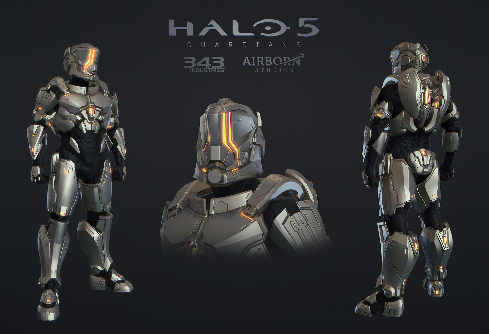 Halo 5 Multiplayer Armor Hellcat by polyphobia3d 2000x1365