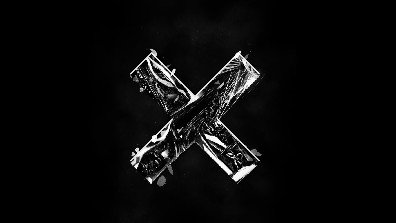 1366x768 The XX Logo desktop PC and Mac wallpaper 1366x768
