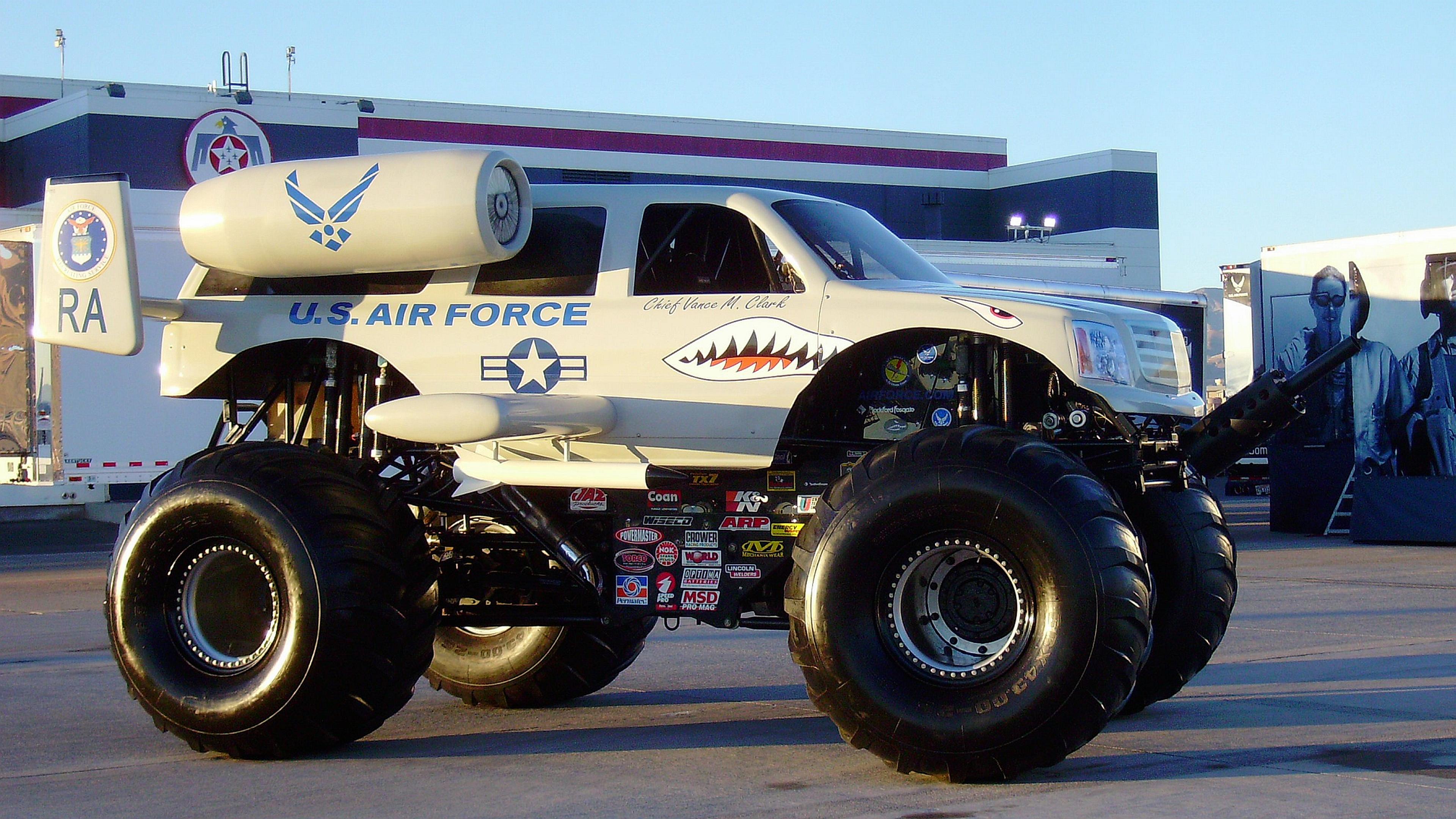 Vehicles   Monster Truck Wallpaper 3840x2160