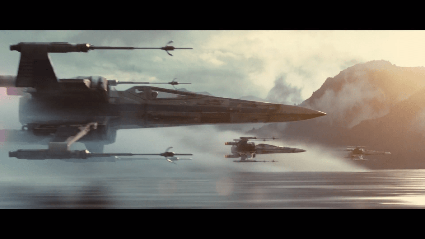 X Wing Wallpaper submited images 1366x768