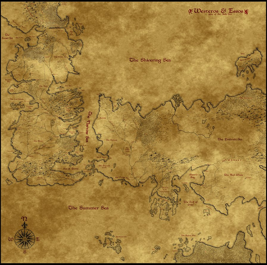 Free Download Westeros Map Wallpaper Map Of Westeros Essos
