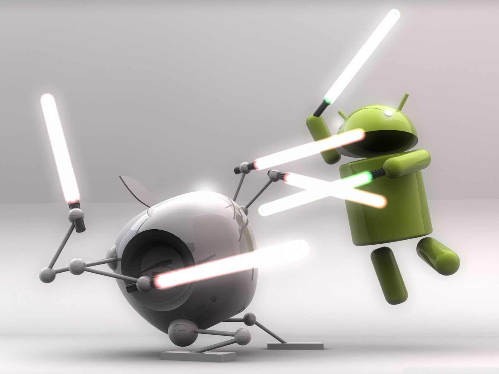 Funny Android Robot HD Wallpaper Vector Designs Wallpapers 1600x1200