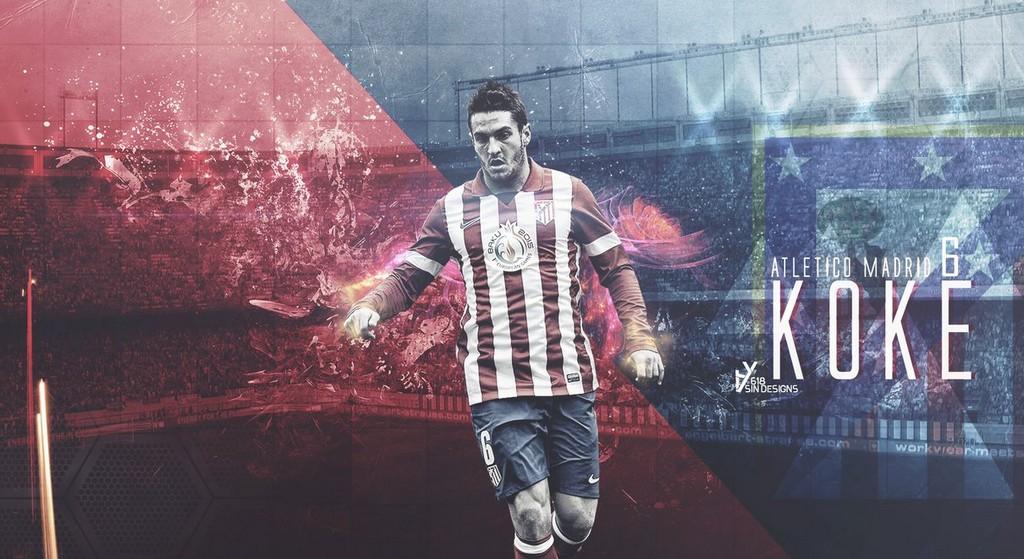 Koke Atletico Madrid Wallpaper   Football Wallpaper HD Football 1024x559