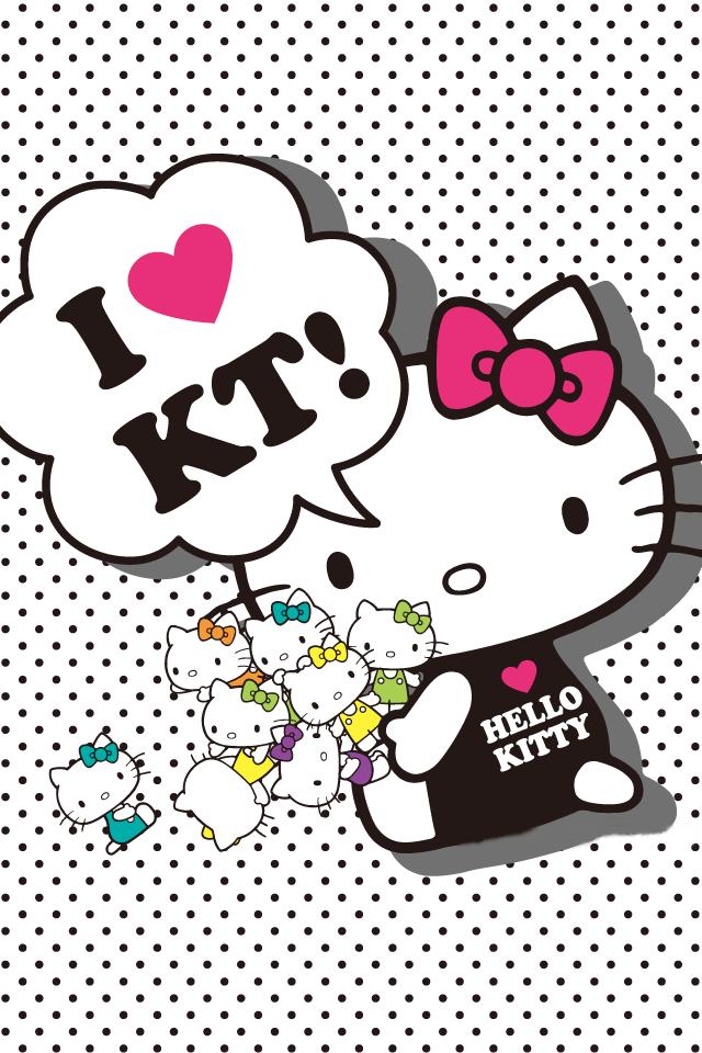 48 Hello Kitty Phone Wallpaper On Wallpapersafari