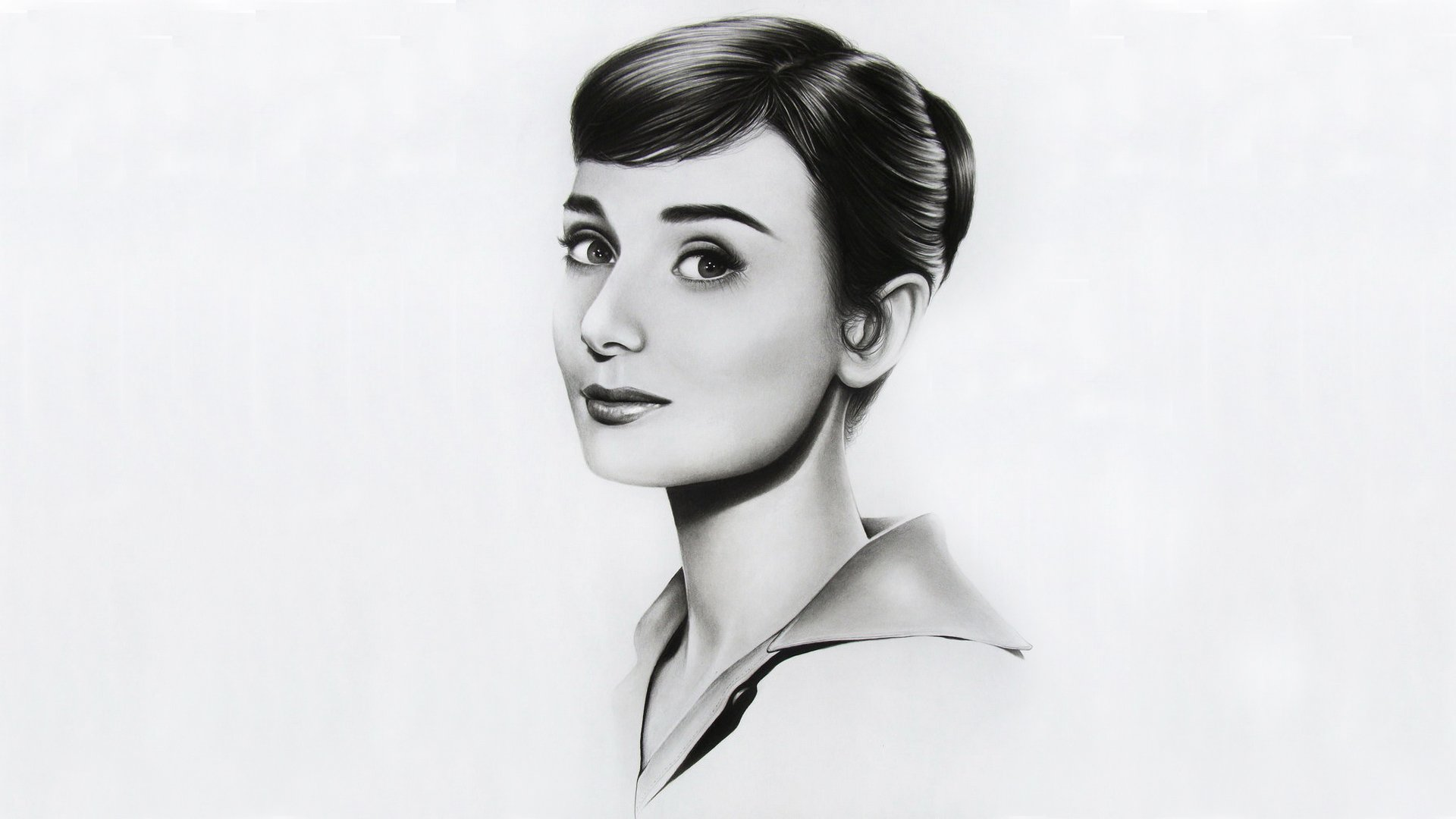 Audrey Hepburn Desktop Background   Wallpaper High 1920x1080