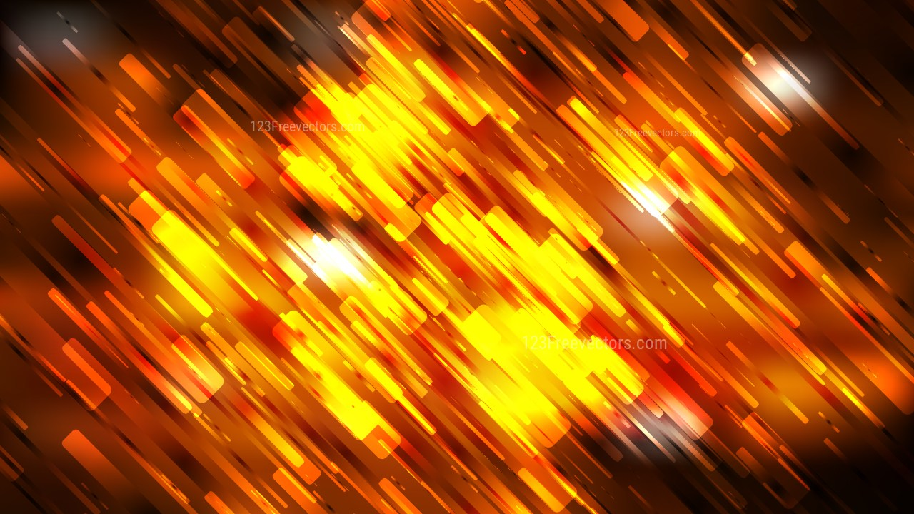 Cool Orange Abstract Asymmetric Random Lines Background 1280x720