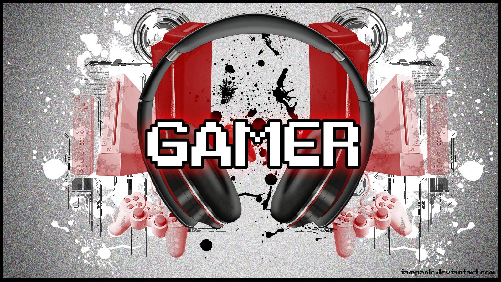 Am A Gamer Wallpaper I am a gamer w 1600x900
