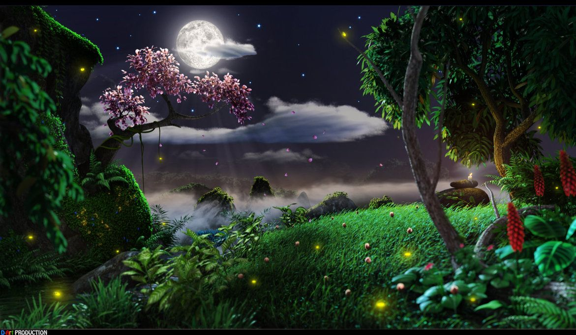 Nature at Night by dart12001deviantartcom New 1171x683