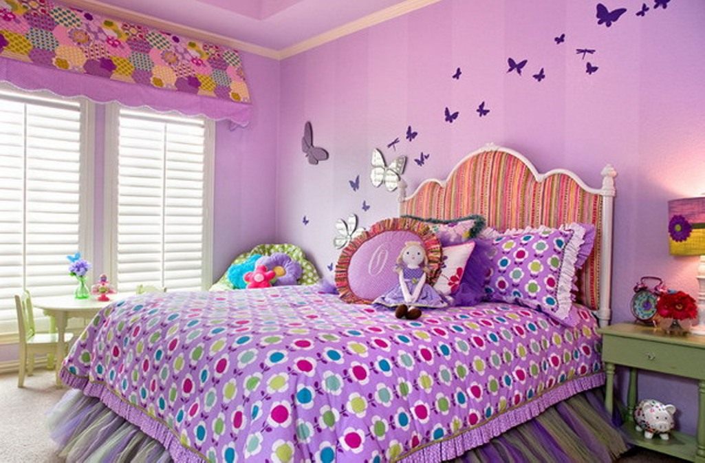 Download 15 Charming Butterfly Themed Girls Bedroom Ideas Rilane We ...