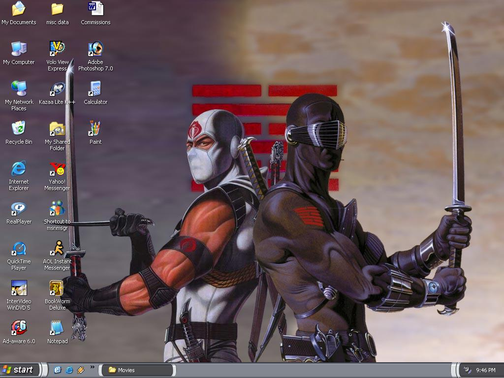my GI Joe Ninjas background by Maddhattrrr 1024x768