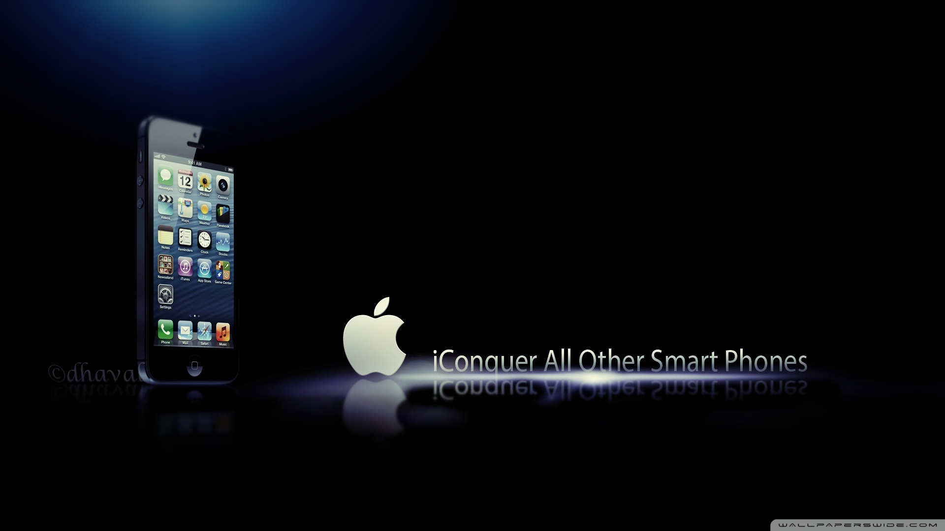 Wallpaper iphone gelap - Iphone 5s Black Wallpapers And Images Wallpapers Pictures Photos