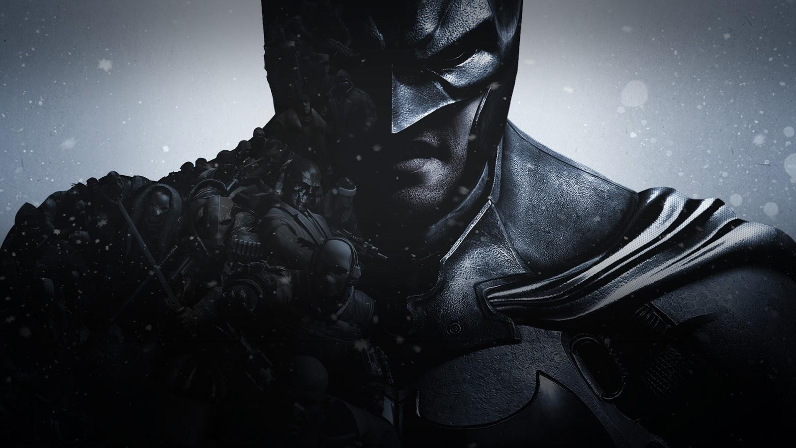 LEAGUE OF FICTION Batman Arkham Origins Desktop Wallpaper SDCC 2013 1600x900