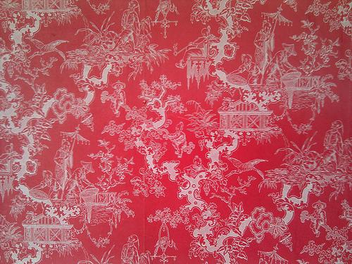 Oriental pattern flock wallpaper Flickr   Photo Sharing 500x375