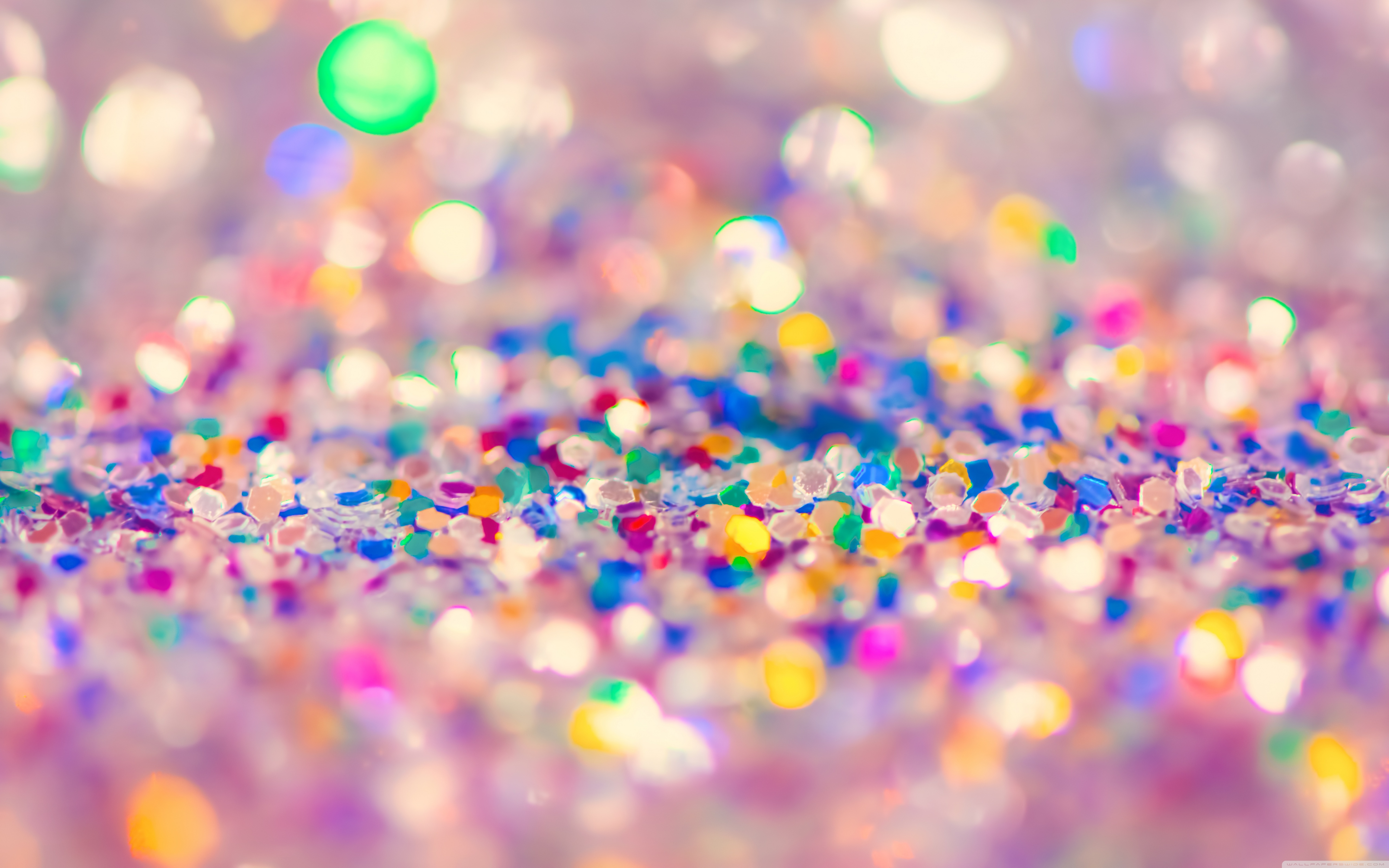 Free Download Colorful Glitter 4k Hd Desktop Wallpaper For