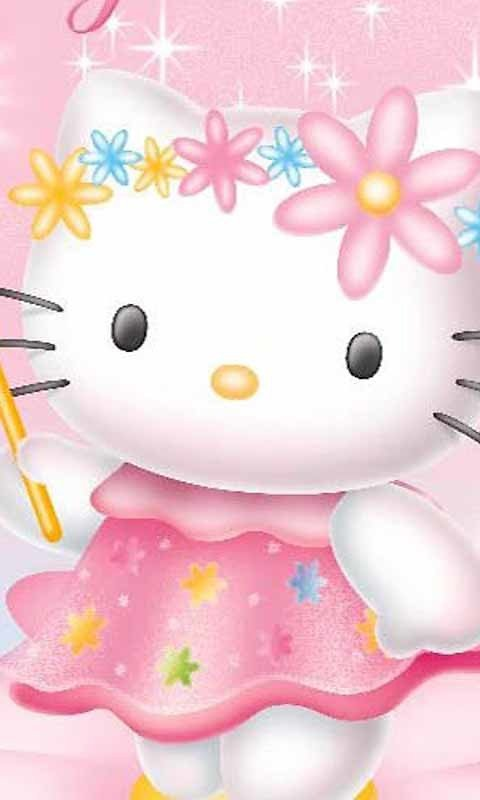 cdd2f8b0f Cute Hello Kitty Live Wallpaper Android Live Wallpaper download 480x800