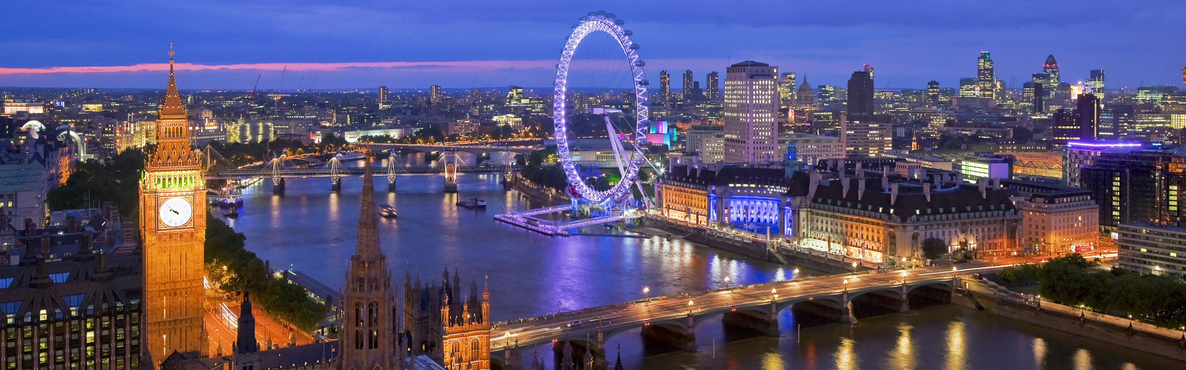 Free Download And London Skyline At Night London Uk London