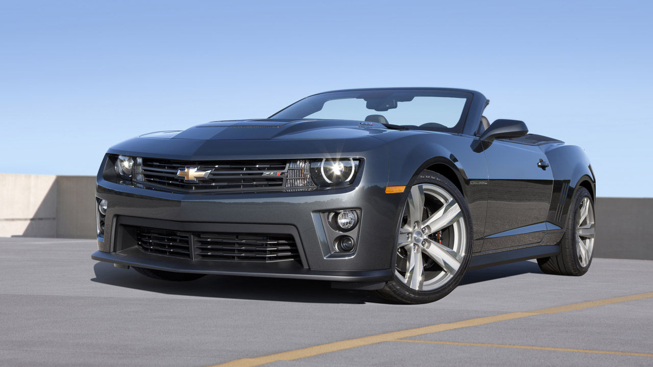 2013 Chevrolet Camaro ZL1 Convertible   Wallpapers Pictures Pics 1280x720
