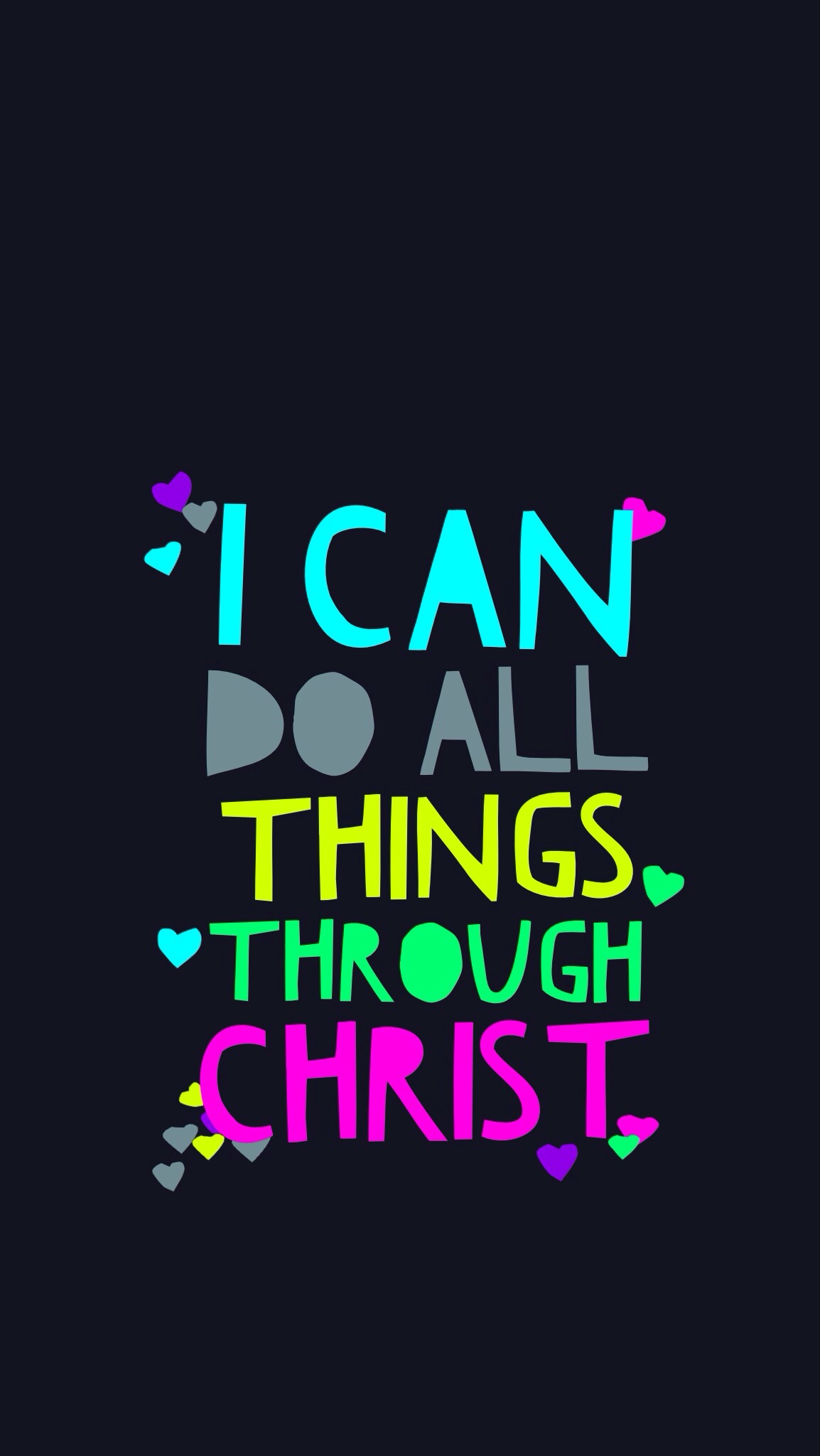Do All Things Through Christ Who Strengthens Me Wallpaper Philippians 1154x2048