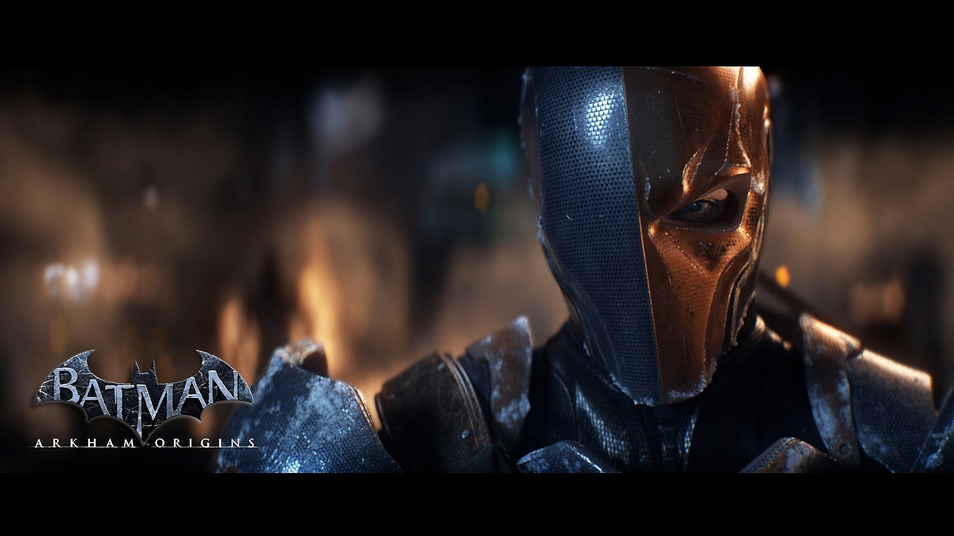 Batman Arkham Origins Batman Deathstroke wallpaper 1920x1080 1920x1080