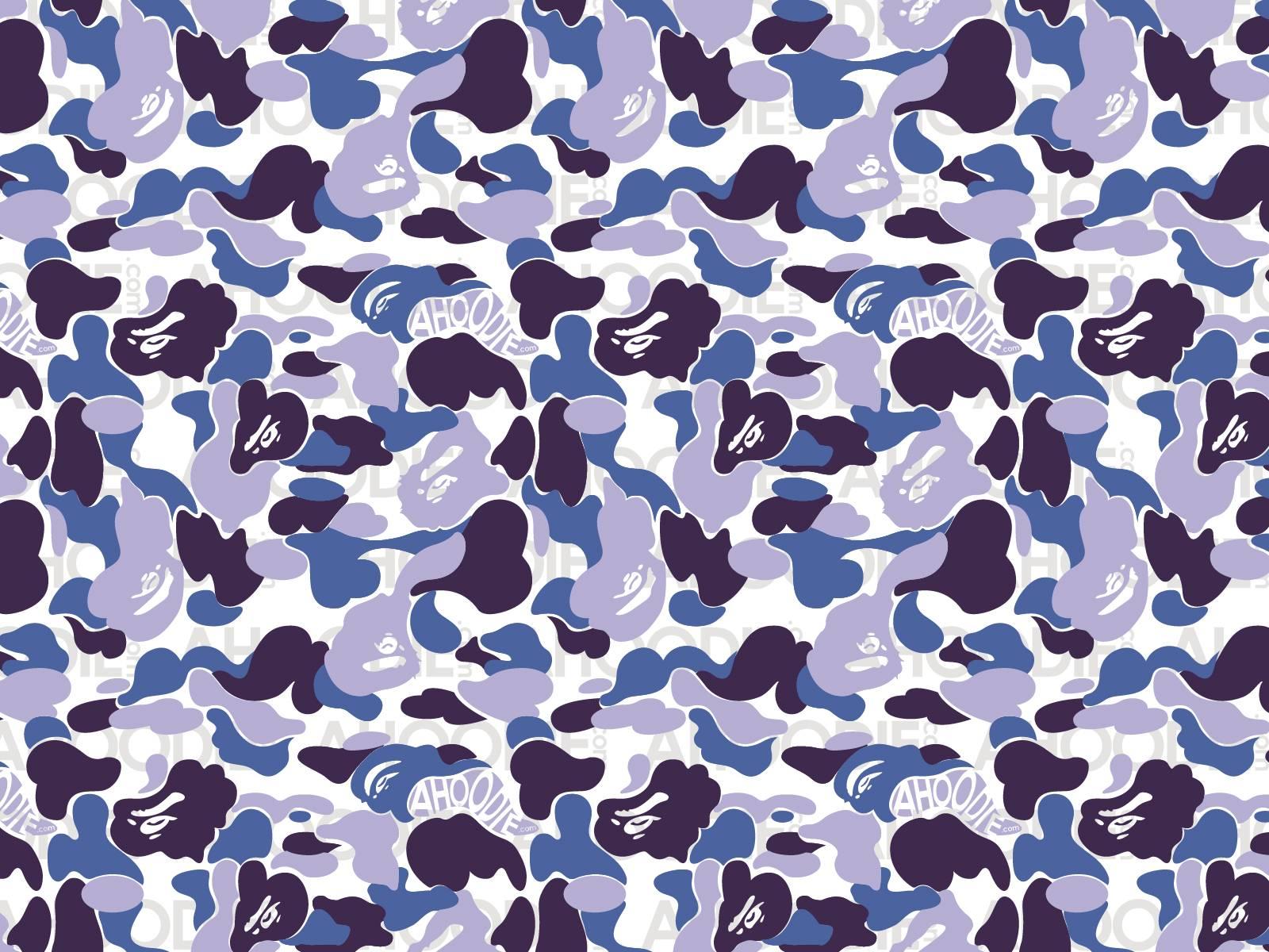 Blue Camouflage Wallpaper   Desktop Backgrounds 1600x1200