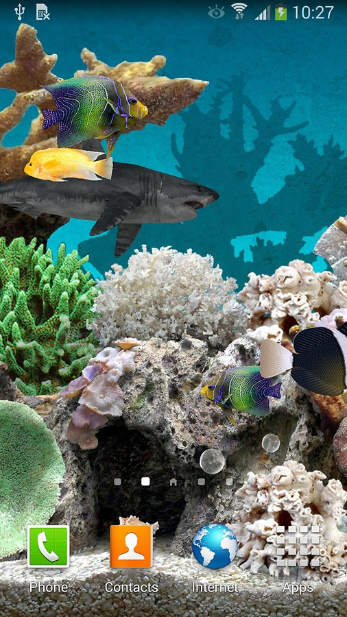 3D Aquarium Live Wallpaper   Android Apps and Tests   AndroidPIT 506x900